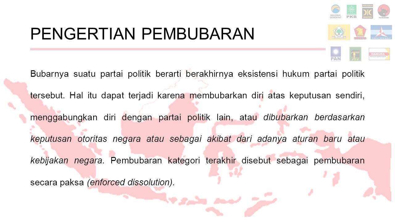 Daftar Rujukan Sekretariat Jenderal dan Kepaniteraan Mahkamah Konstitusi.