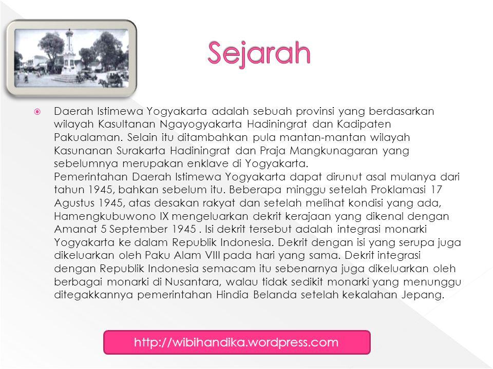  Yogyakarta masih sangat kental dengan budaya Jawanya.