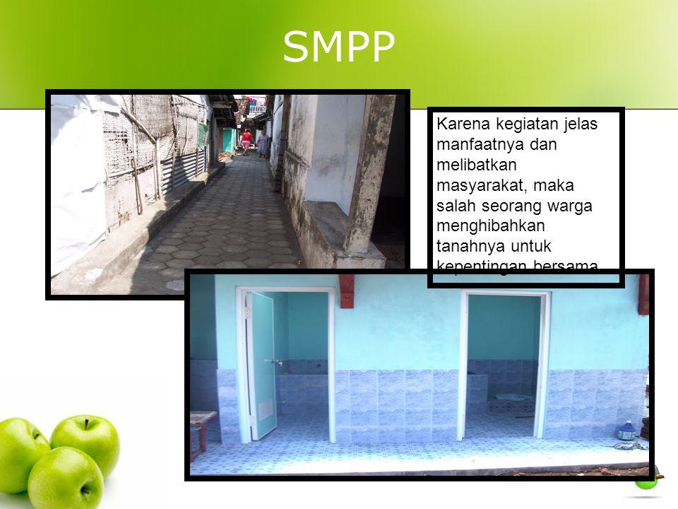 SMPP Karena kegiatan jelas manfaatnya dan melibatkan masyarakat, maka salah seorang warga menghibahkan tanahnya untuk kepentingan bersama
