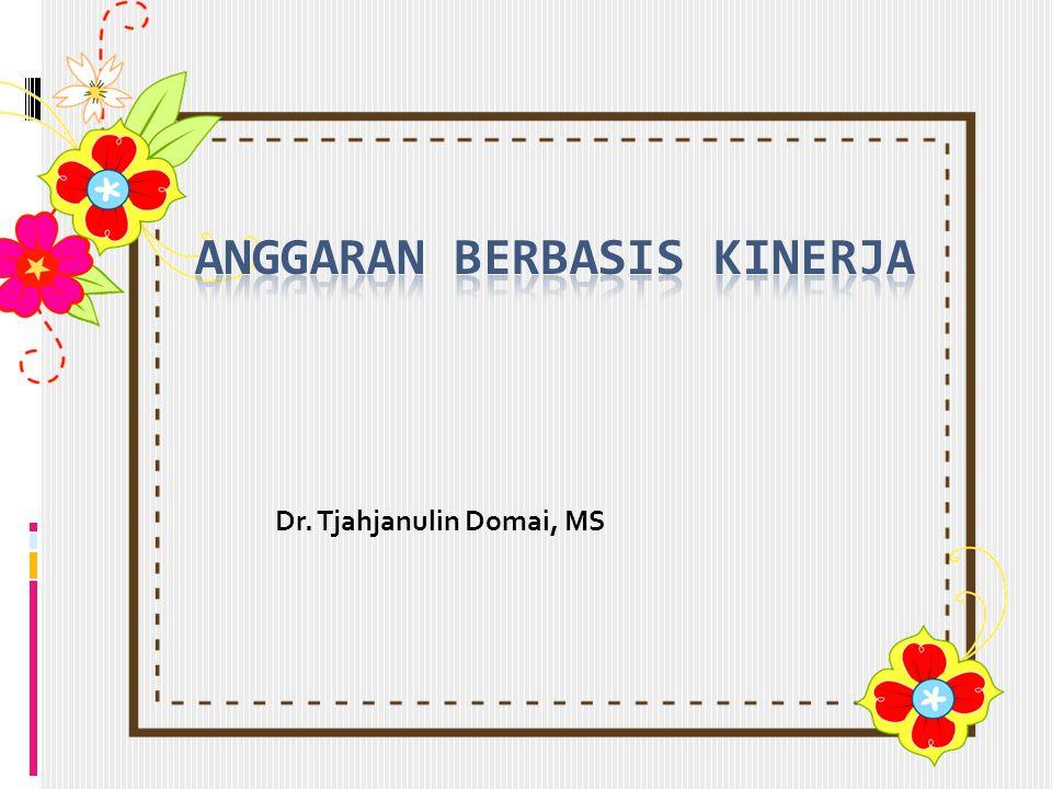 Dr. Tjahjanulin Domai, MS