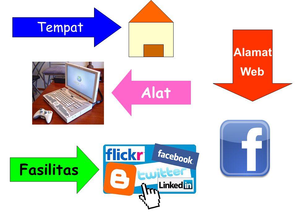 Tempat Alat Fasilitas Alamat Web
