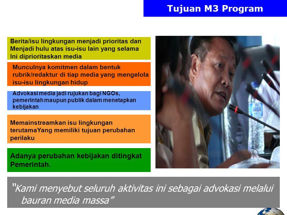 Multi Media Machine M3 PLHMedia Ngos, Universitas OR Pemerintah