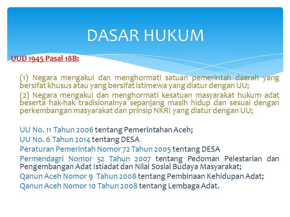 Budaya Aceh dile that meugah Dalam sejarah dile saboh thon Trok bak masanyoe bek ta peubicah Budaya beu meugah adak jeut beu harom Nyoe koen geutanyoe nyang tem peucerah Digop meutuah cit kureung meuphom Ureung nyoe keuh cukop that ceudah Ta peu meuriah budaya man dum