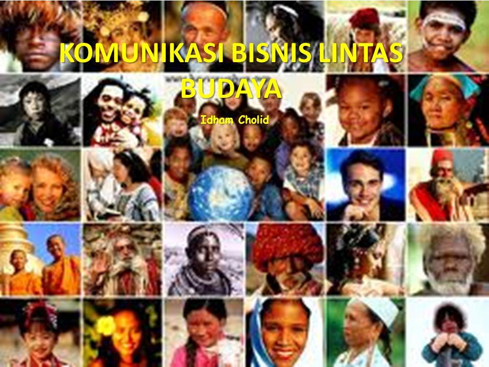 Pakaian dan Penampilan * Kimono – orang jepang * Wajah yang dicoret – suku indian Makanan dan kebiasaan makan * Daging sapi – dimakan oleh orang Amerika terlarang bagi orang India (hindu) * Mempergunakan tangan - Indonesia Mempergunakan sumpit - Jepang Karakteristik Budaya