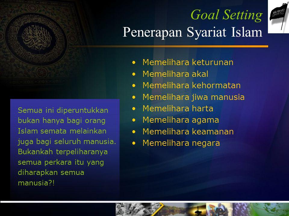 Oleh karena itu... berbagai upaya untuk menutupi syariat Islam dan upaya menghambat serta menentang diterapkannya syariat Islam pada hakikatnya adalah