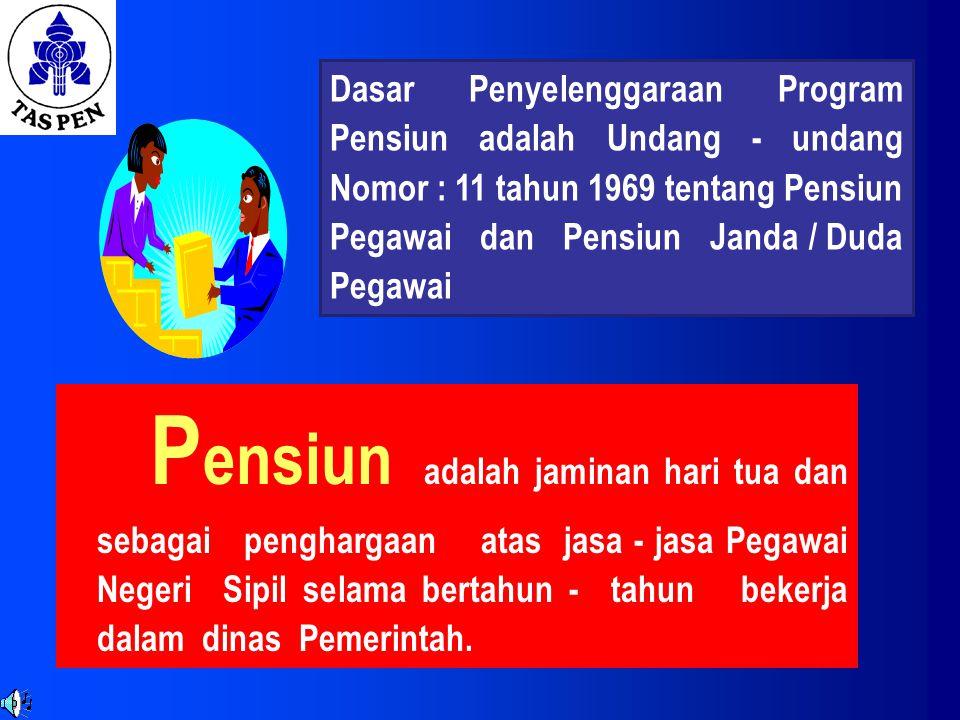 PROGRAM PENSIUN 20