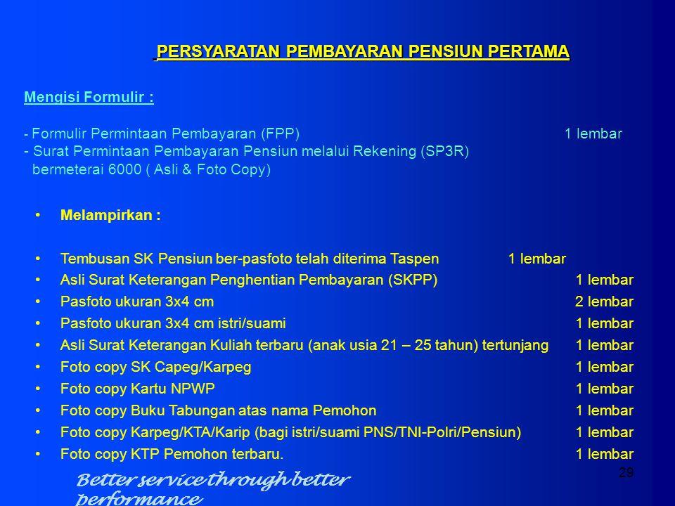 TMT Pensiun:01-02-2012 Pensiun Pokok:Rp. 2.698.100 Jumlah Jiwa:1102 Pangkat:IV / C Pensiun Pokok :Rp. 2.698.100 Tunj. Ist/Smi 10 % x Pensiun Pokok :Rp
