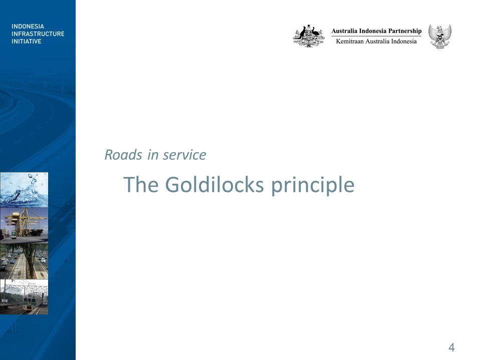 4 The Goldilocks principle