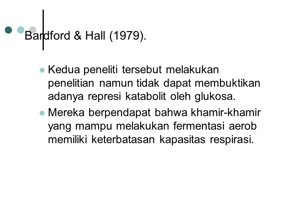 Bardford & Hall (1979).