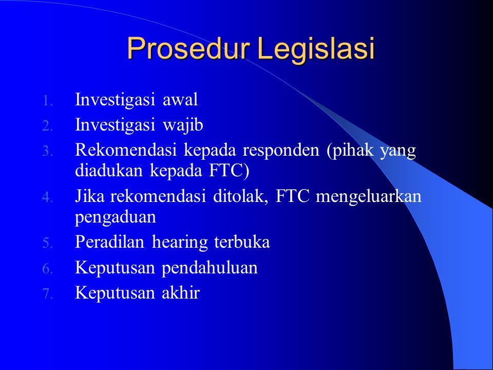 FTC terdiri dari seorang ketua dan empat orang anggota Secara administratif FTC berada di bawah kewenangan perdana menteri FTC merupakan badan ekstra
