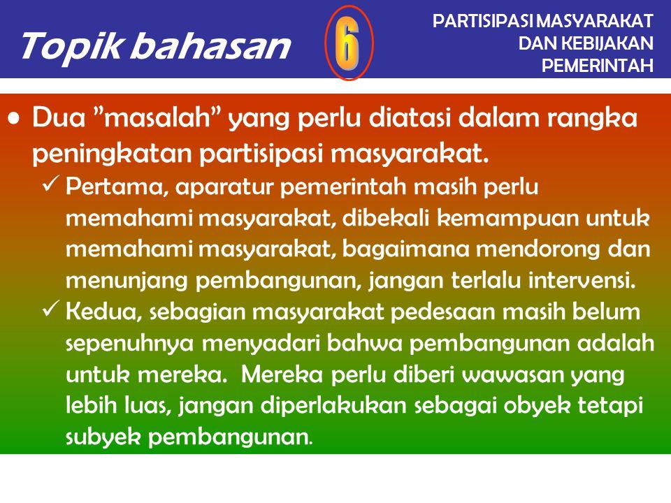 Topik bahasan IDENTIFIKASI MASALAH Kelompok Informasi Jenis InformasiIdentifikasi Masalah IV.