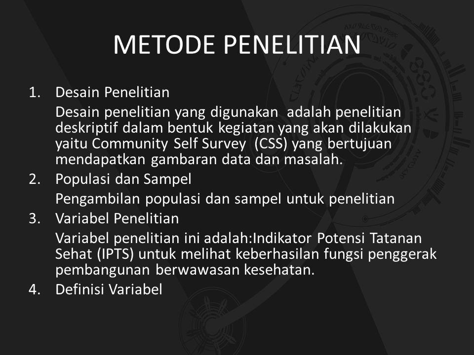 METODE PENELITIAN 1.Desain Penelitian Desain penelitian yang digunakan adalah penelitian deskriptif dalam bentuk kegiatan yang akan dilakukan yaitu Co