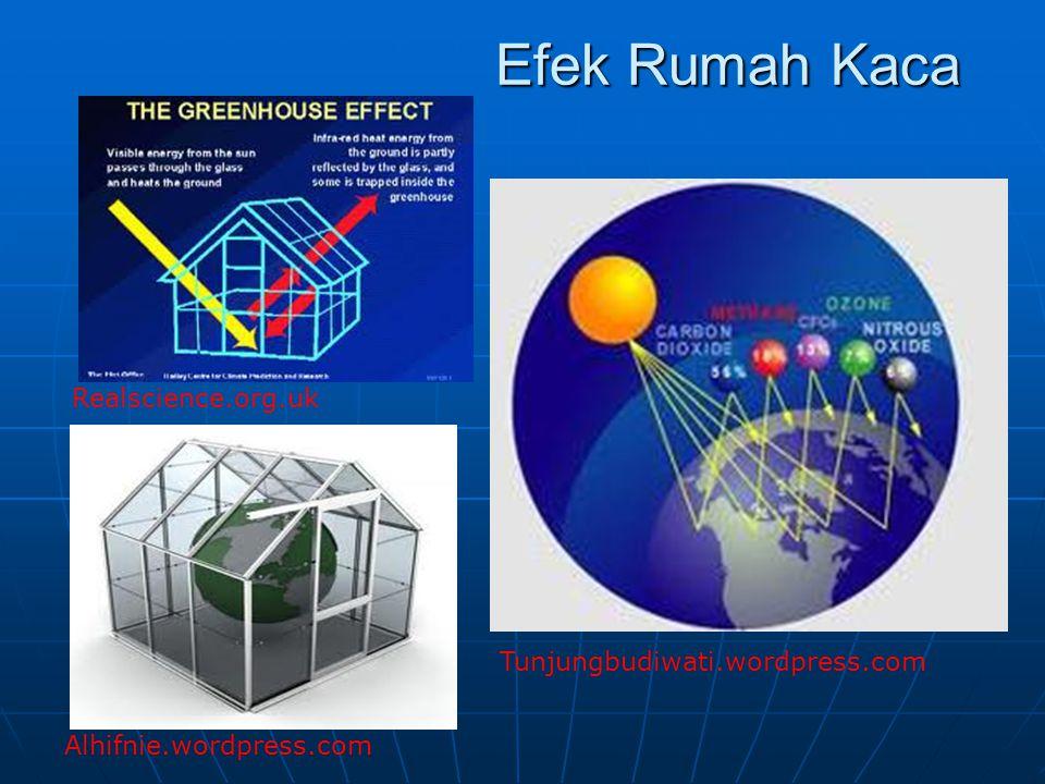 Efek Rumah Kaca Realscience.org.uk Alhifnie.wordpress.com Tunjungbudiwati.wordpress.com