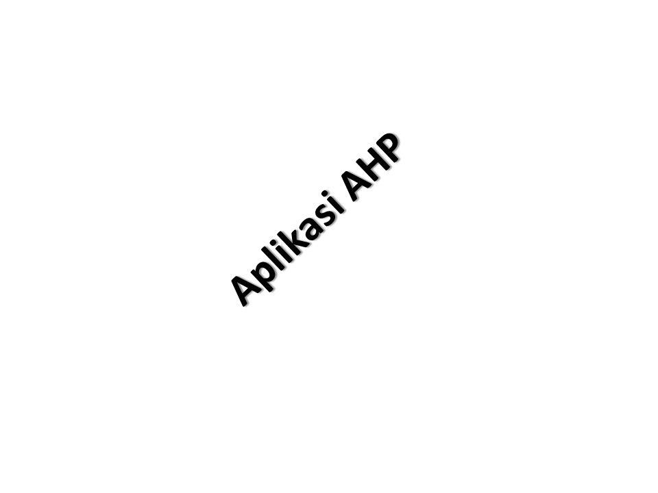 Aplikasi AHP