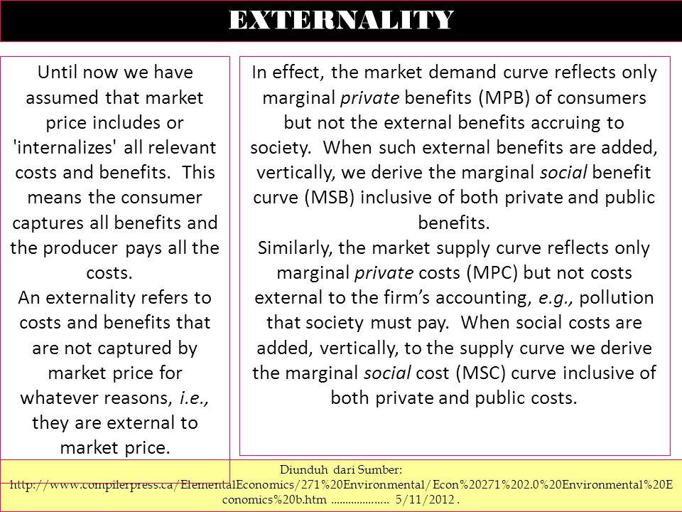 EXTERNAL BENEFIT