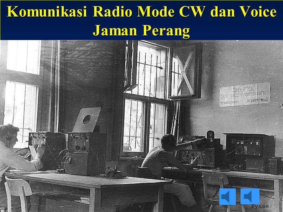 Sulwan-YB8EIPAmateur Radio Dalam Bingkai Sejarah9 Radio Transceiver Mode CW Digunakan di jaman perang dunia II oleh Jerman
