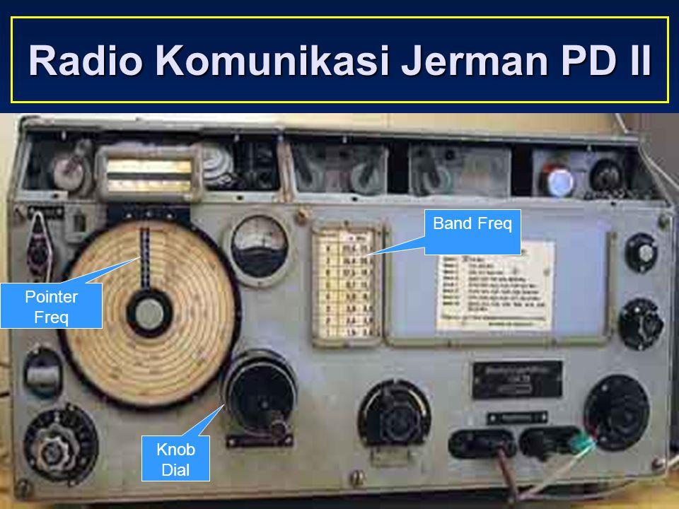 Sulwan-YB8EIPAmateur Radio Dalam Bingkai Sejarah10 Komunikasi Radio Mode CW dan Voice Jaman Perang