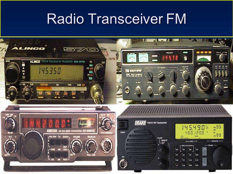 Sulwan-YB8EIPAmateur Radio Dalam Bingkai Sejarah 31 Frekuensi Modulasi Contoh komunikasi radio dengan modulasi FM Unggul dalam hal kualitas suara