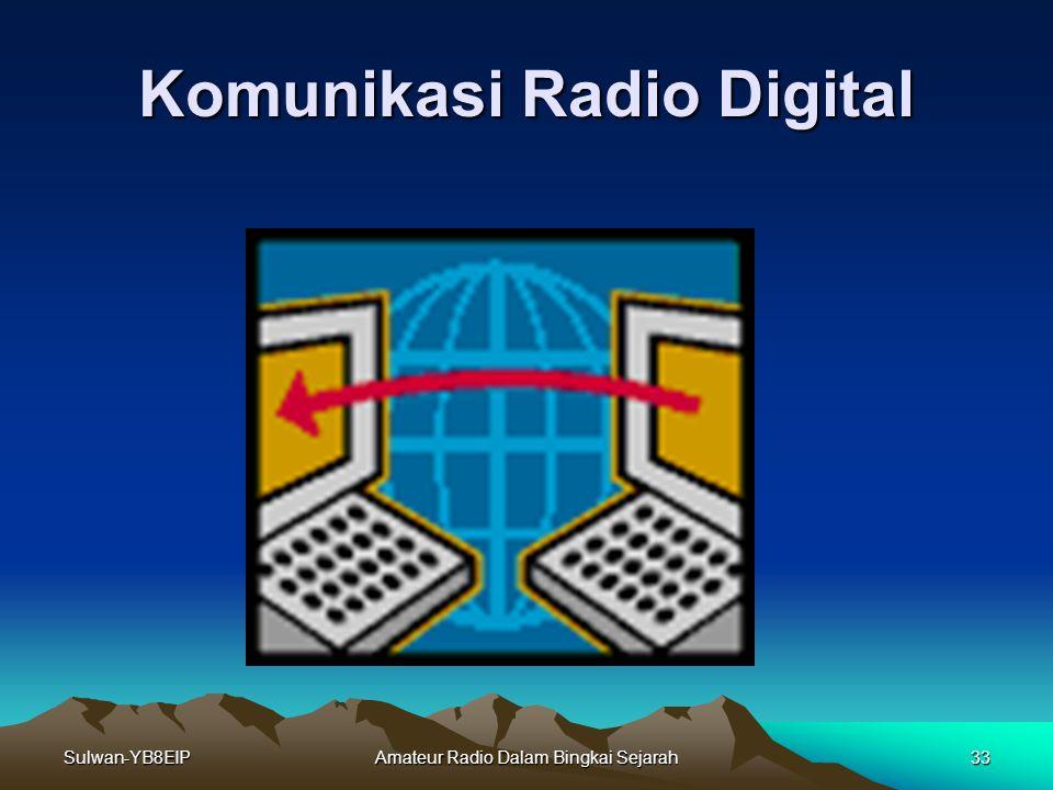 Sulwan-YB8EIPAmateur Radio Dalam Bingkai Sejarah32 Radio Transceiver FM
