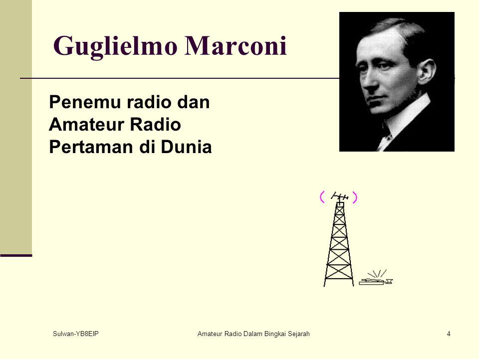 Sulwan-YB8EIPAmateur Radio Dalam Bingkai Sejarah3 Radio Komunikasi Dalam Sejarah Tahun 1886: Heinrich Hertz membuktikan kebenaran teori Maxwell setela
