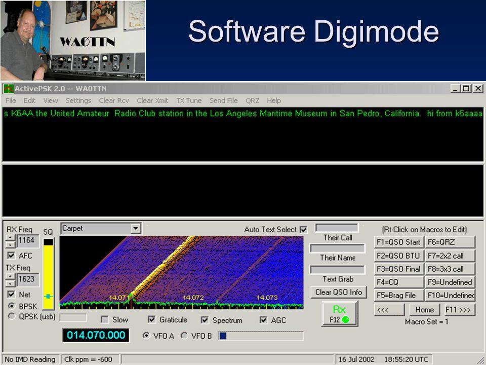 Sulwan-YB8EIPAmateur Radio Dalam Bingkai Sejarah43 Mode PSK31- MixW Interface