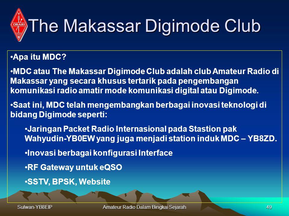 Sulwan-YB8EIPAmateur Radio Dalam Bingkai Sejarah48 Mode SSTV Contoh Foto kiriman YC8EXL