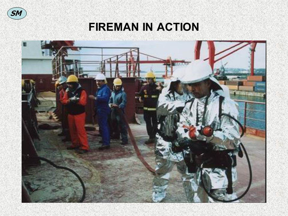 SM FIREMAN IN ACTION