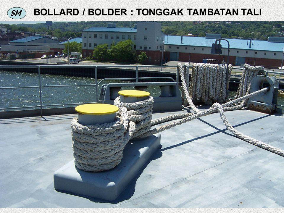 SM BOLLARD / BOLDER : TONGGAK TAMBATAN TALI