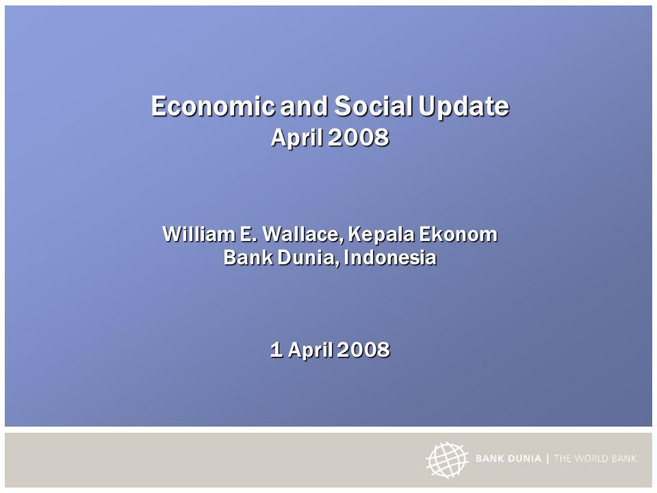 Indonesia mengalami pertumbuhan PDB berkesinambungan di tahun 2007