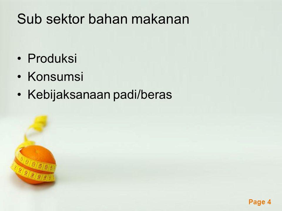 Powerpoint Templates Page 5 Sub sektor perkebunan Pola Perusahaan Inti Rakyat (PIR).