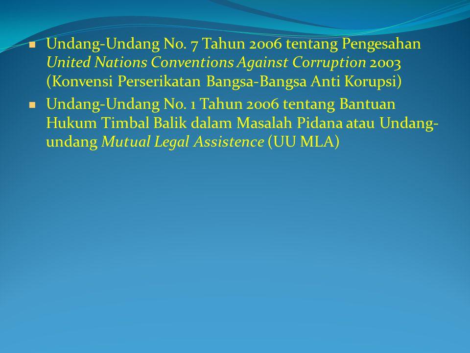 Rumusan Tindak Pidana Korupsi (UU 31/1999 jo UU 20/2001)  Dikelompokkan menjadi: Merugikan keuangan negara, Suap-menyuap Penggelapan dalam jabatan Pemerasan Perbuatan curang Benturan kepentingan dalam pengadaan Gratifikasi