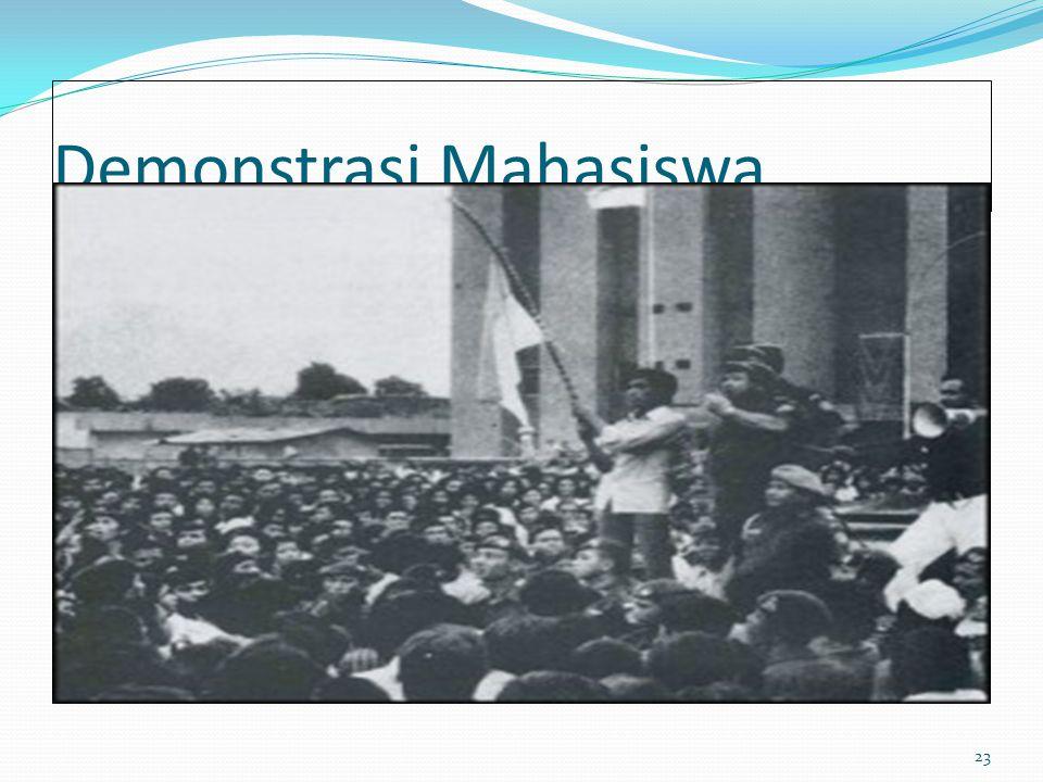 Demonstrasi Mahasiswa 23