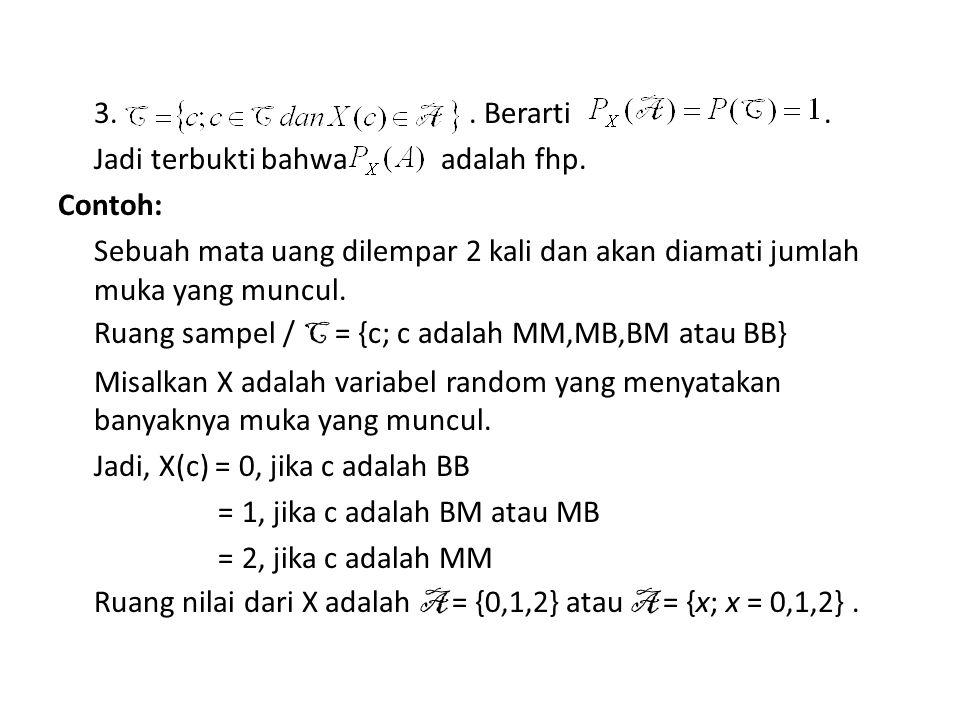 Misalkan A = {1}, berapakah P(A) .