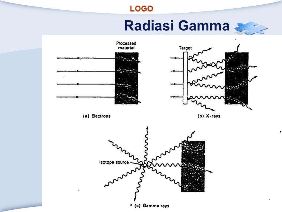 LOGO Click to edit Master text styles Radiasi Gamma www.themegallery.com