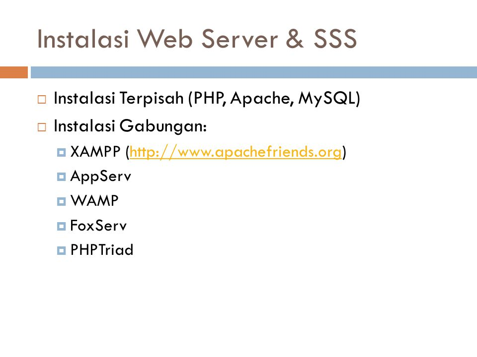 Konfigurasi WebServer di Linux  Masuk Konigurasi httpd.conf  # vi /etc/httpd/conf/httpd.conf  Tekan Insert dan edit atau tambahkan :  ServerName 192.168.21.1:80 (ip DNS anda :80)  NameVirtualHost 192.168.21.1 (ip DNS anda)  ServerAdmin unpad.ac.id(DNS server anda)  DocumentRoot /var/www/html (tempat direktori penyimpanan data web)  Kemudian simpan dengan tekan tombol ESC (:wq) Enter.