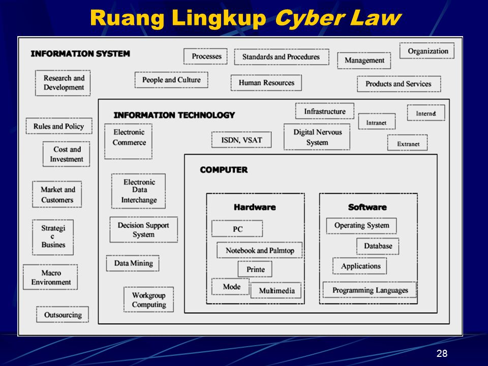 28 Ruang Lingkup Cyber Law
