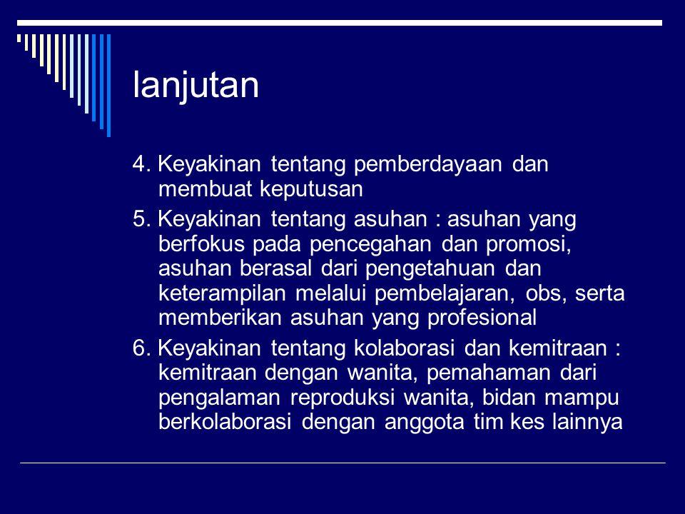 LANJUTAN 9.Mhormati praktek, adat istiadat, kebudayaan, keyakinan/agama lingkungan setempat 10.