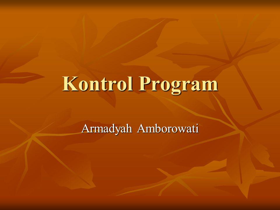 Kontrol Program Armadyah Amborowati