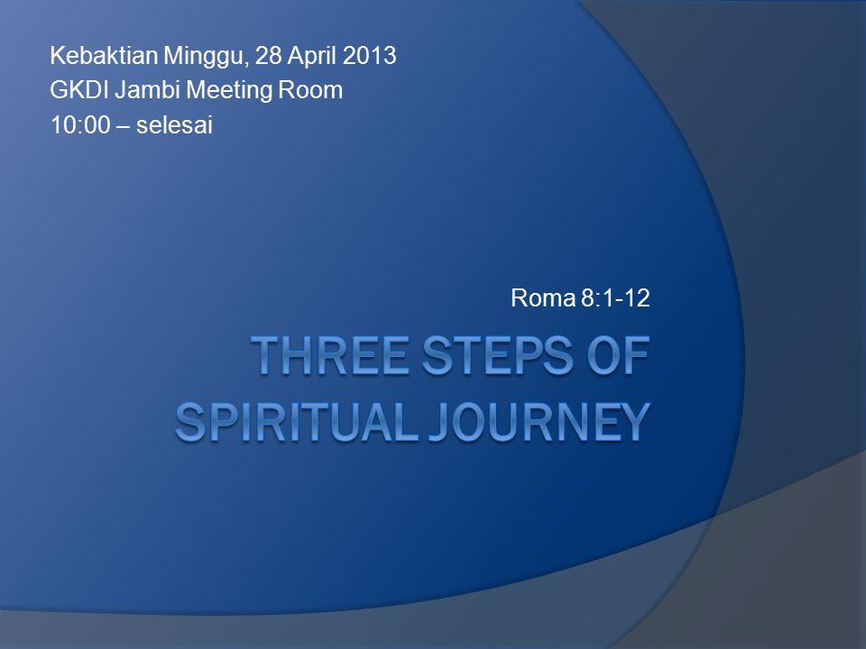 Kebaktian Minggu, 28 April 2013 GKDI Jambi Meeting Room 10:00 – selesai Roma 8:1-12