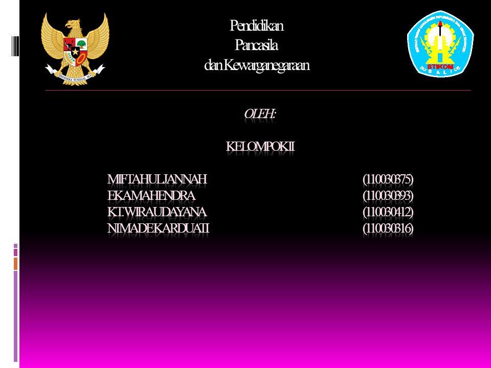Pendidikan Pancasila dan Kewarganegaraan S EJARAH HAM DIBERBAGAI NEGARA 3.