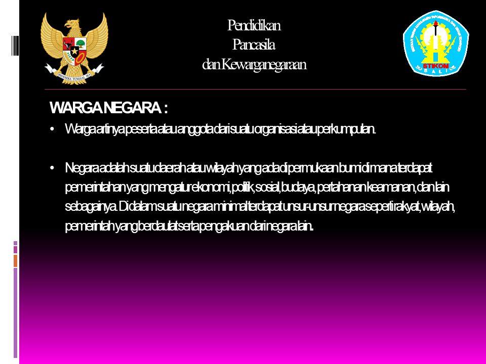 Pendidikan Pancasila dan Kewarganegaraan S EJARAH HAM DIBERBAGAI NEGARA 4.