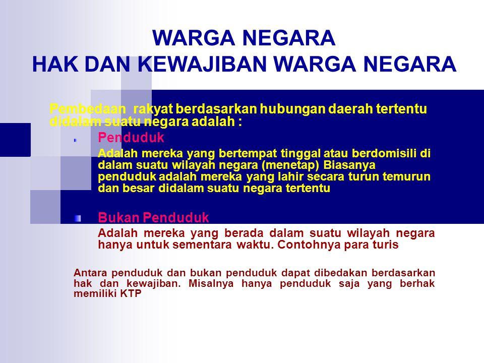 KEHILANGAN KEWARGANEGARAAN INDONESIA memperoleh kewarganegaraan lain atas kemauannya sendiri.
