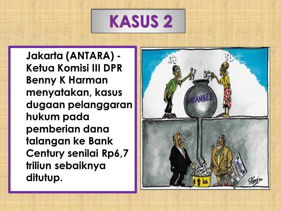 Jakarta (ANTARA) - Ketua Komisi III DPR Benny K Harman menyatakan, kasus dugaan pelanggaran hukum pada pemberian dana talangan ke Bank Century senilai Rp6,7 triliun sebaiknya ditutup.