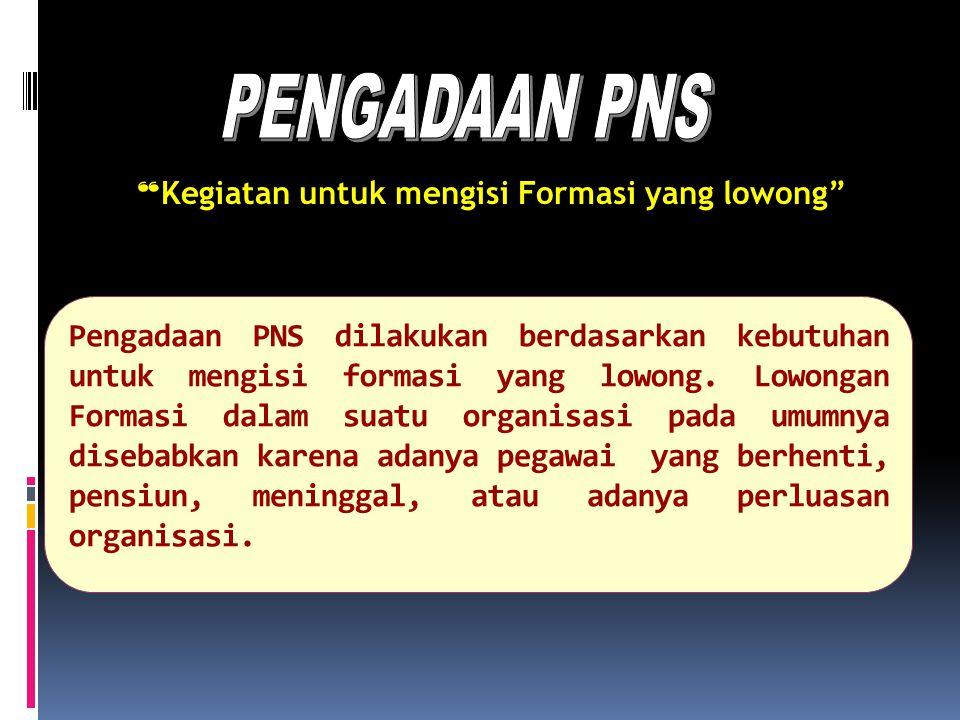 Jenis Pegawai Negeri Sipil UU No. 43 Tahun 1999, pasal 2, ayat (1) Pegawai Negeri ialah : Pegawai Negeri Sipil Anggota Tentara Nasional Indonesia; Ang