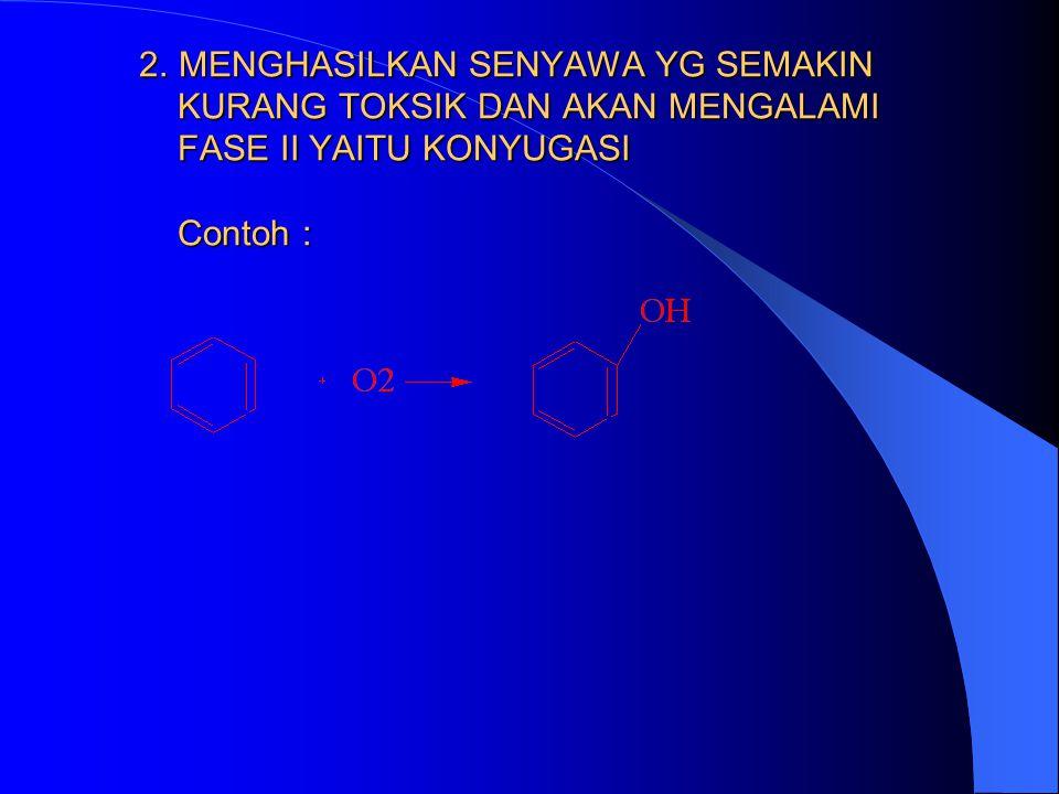 Oksidasi Benzoapirin Oksidasi Benzoapirin Karena terdapat epoksid bersifat bioaktivasi