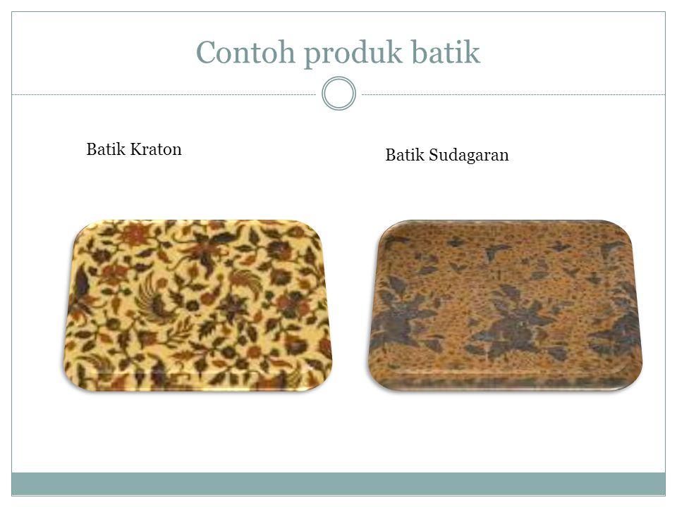 Contoh produk batik Batik Kraton Batik Sudagaran