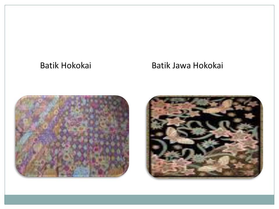 Batik Jawa HokokaiBatik Hokokai