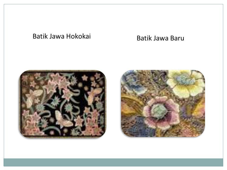 Batik Jawa Baru Batik Jawa Hokokai