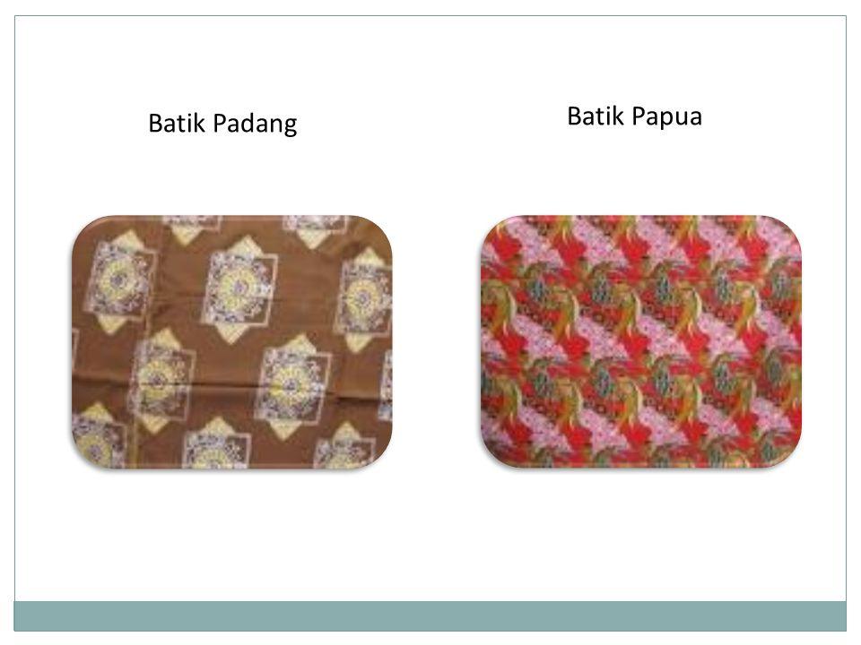 Batik Papua Batik Padang