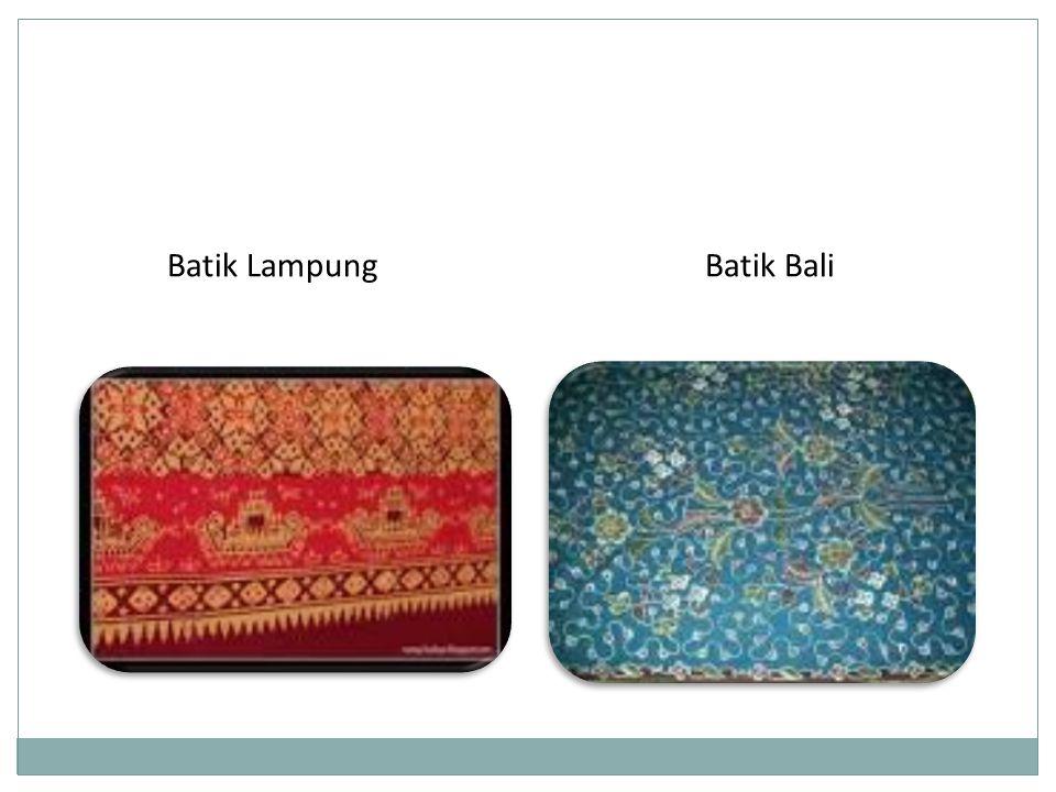 Batik BaliBatik Lampung